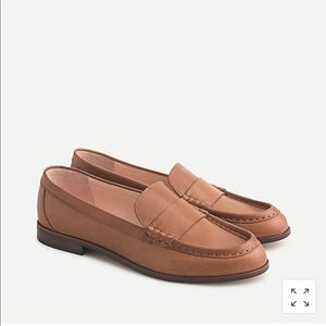 J Crew Classic Leather Penny Loafers